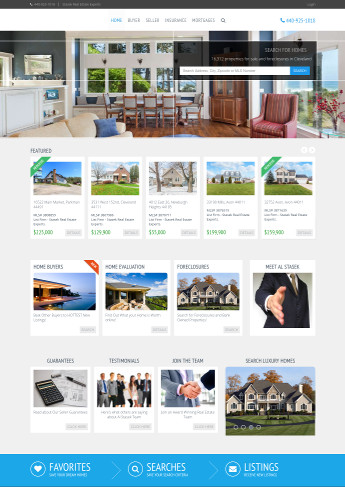 Cleveland Ohio Properties Real Estate Website